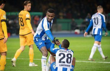 คลิปไฮไลท์เดเอฟเบ โพคาล แฮร์ธ่า เบอร์ลิน 3-3 (5-4) ดินาโม เดรสเดน Hertha Berlin 3-3 (5-4) Dynamo Dresden